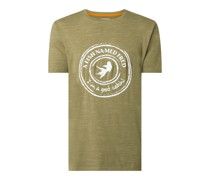T-Shirt aus Slub Jersey
