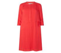 PLUS SIZE Kleid mit Dreiviertelärmeln