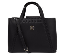 Handtasche mit herausnehmbarer Reißverschlusstasche