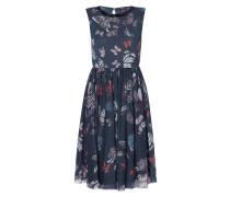Kleid aus Mesh mit Zierperlen