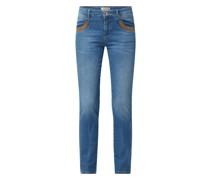 Slim Fit Jeans mit Stretch-Anteil Modell 'Naomi'