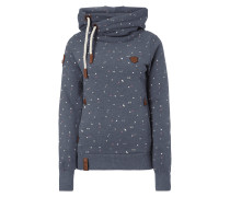 Hoodie im Allover-Muster
