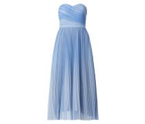 Kleid aus Tüll mit Plisseefalten