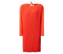 Kleid mit feinen Plisseefalten