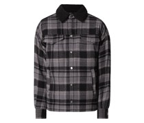 Regular Fit Freizeithemd aus Baumwollmischung Modell 'Gawan'