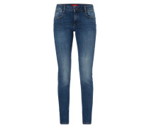 Rinsed Washed Super Skinny Fit Jeans