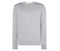 Slim Fit Sweatshirt mit strukturiertem Logo