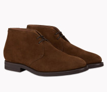 Brunello Cucinelli Schnürschuhe - Desert Boots Aus Veloursleder