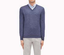 Brunello Cucinelli Pullover Mit V-Ausschnitt - Leichter Pullover Mit V-Ausschnitt Aus Wolle Und Kaschmir