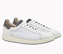 Brunello Cucinelli Sneaker - Sneakers Lux Aus Nylon, Kalbleder Und Samt