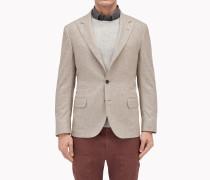 Brunello Cucinelli Blazer - Jacke In Micro-Donegal Aus Wolle Und Seide
