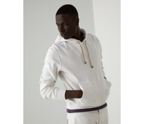 Topwear aus Techno-Baumwollsweat mit Kapuze