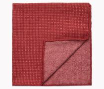 Brunello Cucinelli Pochette - Einstecktuch Aus Wolle Und Baumwolle Mit Pois-Muster