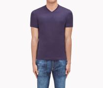 Brunello Cucinelli Kurzärmliges T-Shirt - T-Shirt In Jersey, Slim Fit Mit V-Ausschnitt