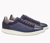 Brunello Cucinelli Sneaker - Sneakers Lux Aus Nylon, Veloursleder Und Kalbleder