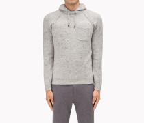 Brunello Cucinelli Kapuzenpullover - Geknöpfter Pullover Im Sweatshirt-Stil Aus Schurwolle Und Kaschmir