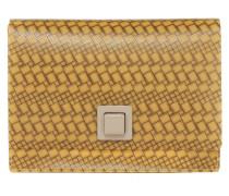 Gum Gianni Chiarini kleine Tasche gemustert in Gelb