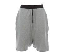 Jogger Shorts Grau