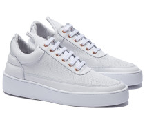 IGUANA WHITE Low Top Sneakers in Weiß