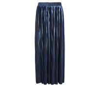 5 Preview DASCHA plissierter Hosenrock in Blau-Metallic
