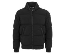 Daunen-Jacke in Schwarz