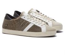 DATE HILL LOW PONY FANTASY TWEED Sneakers in Schwarz-Weiß
