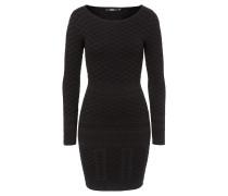 ALMA schmales Kleid in Schwarz