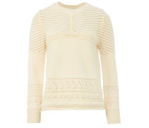 Ba&sh LILO Strick-Sweater in Off-White