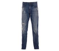 PISTOLERO Jeans Used-Look in Dunkelblau