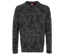 TECH FLEECE CREW Sweater Black Camouflage