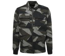 ACE Jacke mit Camouflage Print
