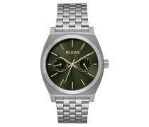 TIME TELLER DELUXE Armbanduhr in Silber