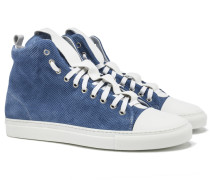 SORRENTO High Top Sneakers in Light Blue