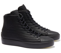 Ecco x TLC High-Top Sneaker RAF in Schwarz