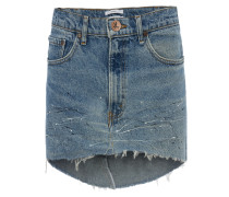 Mini-Rock aus recyceltem Denim