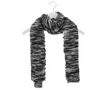 Kaschmir-Schal in Schwarz-Weiß