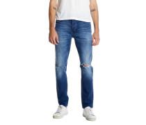 RAY TAPERED ST. ERIK AIRWASH Destressed-Jeans