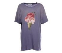 T-Shirt Rosen Print Flieder