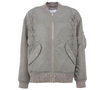 ILISA Bomberjacke Distressed Style in Grau