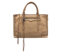 REGAN SATCHEL TOTE Umhängetasche in Sand
