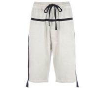 MST64 Shorts in Grau-Weiß