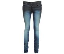 SOPHIE A SLIM schmale Jeans Dunkelblau
