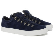 MAROSTICA LOW Wildleder Sneakers in Navy