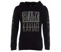MEFLECT Kapuzen-Pullover in Schwarz