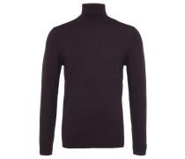 VISAVI Rollkragen-Pullover in Bordeaux