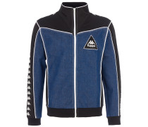 Trainingsjacke Denim Schwarz-Blau