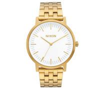 PORTER 40MM Armbanduhr in Gold