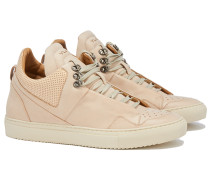 POSEIDON CRUST LEATHER Sneakers in Nude