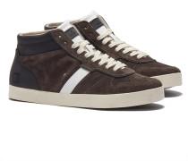 DATE COURT High-top Sneakers in Braun