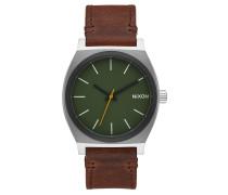 TIME TELLER Armbanduhr in Braun